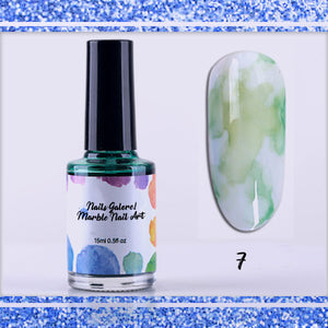 Nails Galore! Marble Nail Art