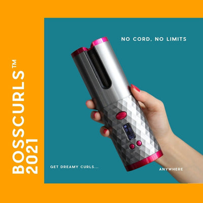 BossCurls™ </br> Cordless Auto Curler-Thumble