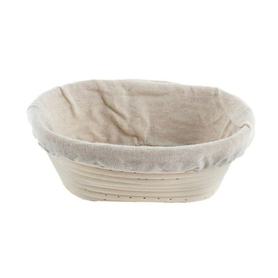 Bread Fermentation Rattan Basket Thumble 21x15x8cm
