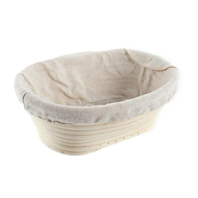 Bread Fermentation Rattan Basket Thumble 25x15x8cm