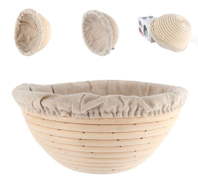 BreadMaker™ Bread Fermentation Rattan Basket Thumble