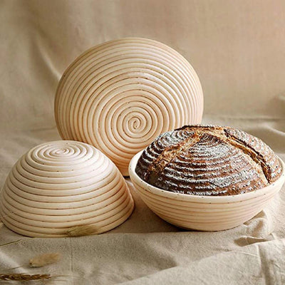 BreadMaker™ Fermentation Rattan Basket-Thumble