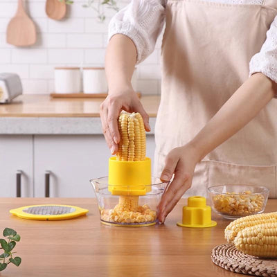 Peelery™ 4-in-1 Corn Vegetable Shredder Peeler Thumble