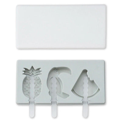 Frosty™ | Silicone Ice Cream Mold Thumble Gray Tropical