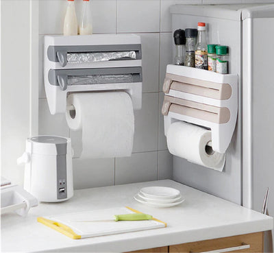KitchenHold™ 4-in-1 Roll, Film and Paper Holder Thumble
