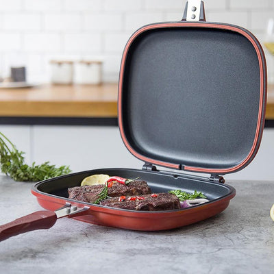 PanFlip™ | Non-stick Double-Sided Pan-Thumble