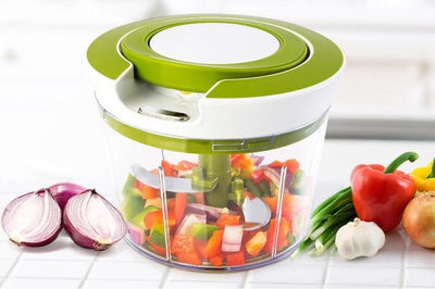 Quick Pull String Food Chopper 4 blades Thumble