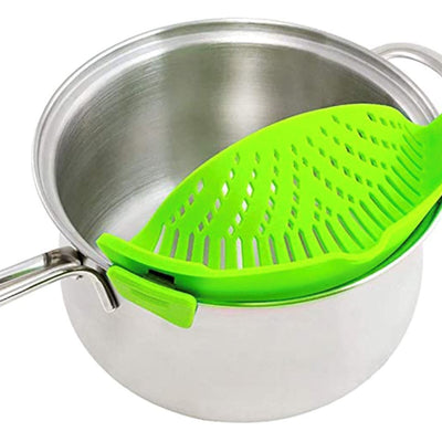 SteadyStrain™ | Attachable Pot Strainer-Thumble