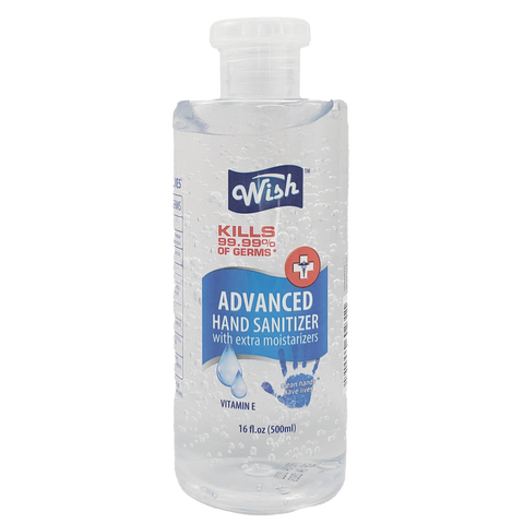 MS 60231 Wish Hand Sanitizer 16 oz | 24 units | $3.99 ea.