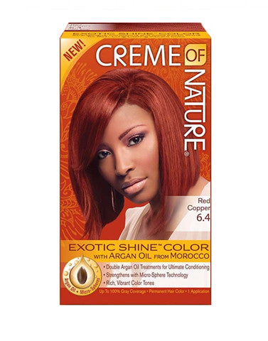 Creme Of Nature Hair Dye Bronze Copper 6 4 Diamond Hair