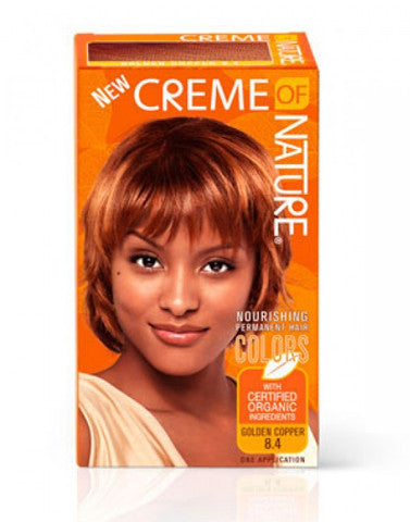 Creme Of Nature Hair Colour Golden Copper 8 4 Diamond