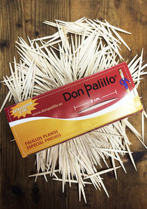 Don Palillo Pintxo Toothpicks (8 cm)