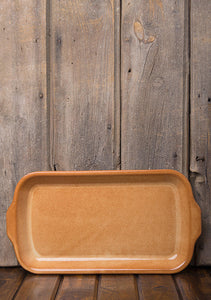 Glazed Rectangular Serving Platter
