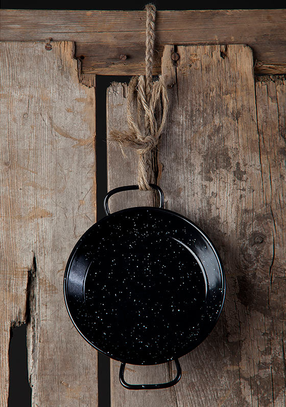 VAELLO Mini Paella Pan (15cm)
