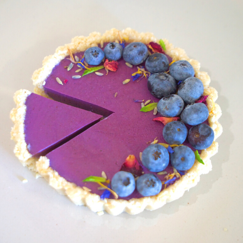 BLUEBERRY LAVENDER TART