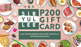 Sibyullee Unlimited Korean BBQ Gift Card