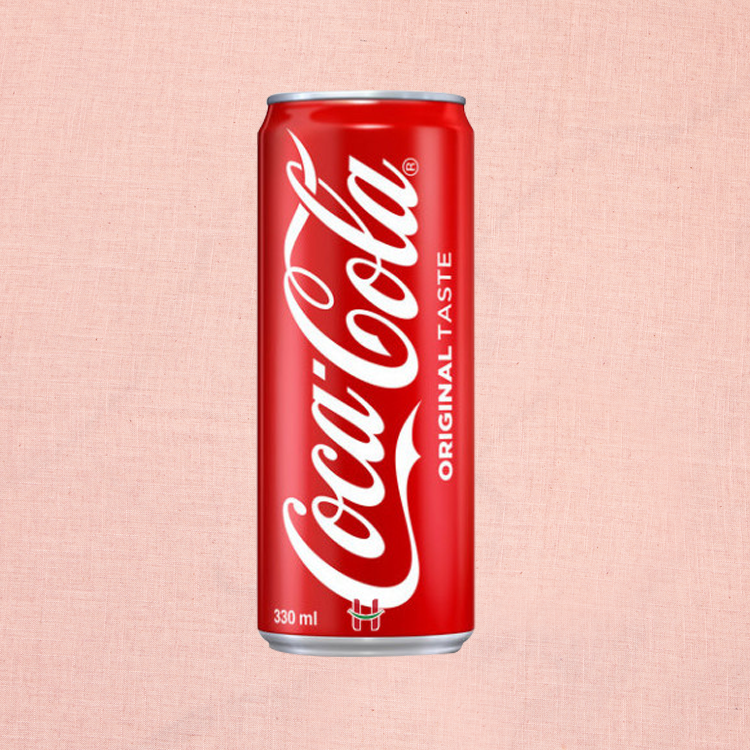 Coke Regular in Can