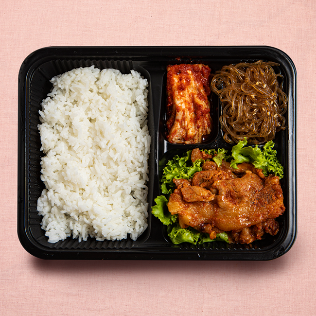 Sweet and Spicy Pork Bulgogi Solo Meal
