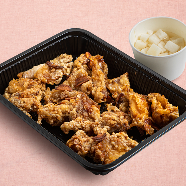 Soy Garlic Fried Chicken Whole