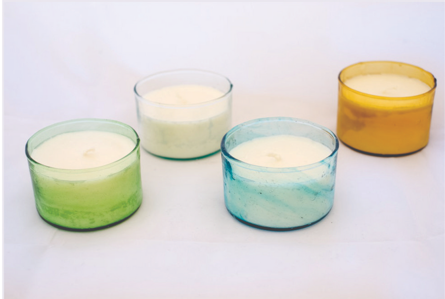 Glass Candles - Dikkeni