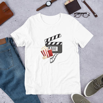 """Movie Night"" Short-Sleeve Unisex T-Shirt"