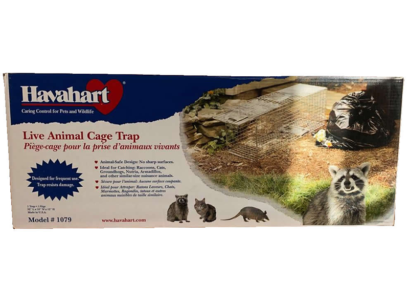 Live Animal Trap - Havahart - Raccoon and Groundhog