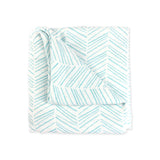 Herringbone Muslin Swaddle Blanket