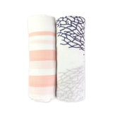 Bamboo Muslin Swaddle 2 Pack