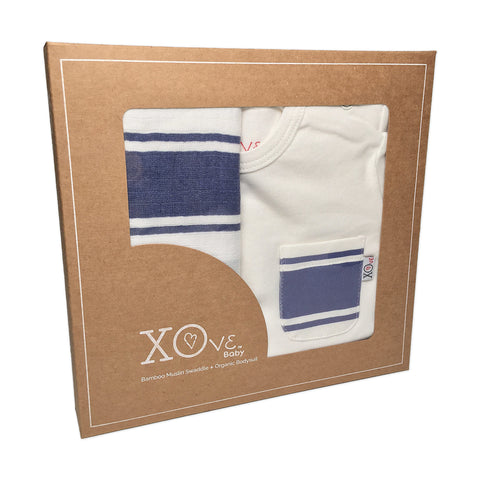 Bodysuit & Swaddle Gift Set - Signature