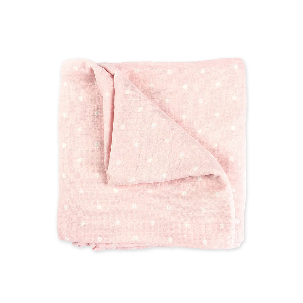 Pink Bamboo Swaddling Blanket
