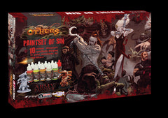 Army Painter Warpaints: The Others: Paint Set Of Sin (x10 exclusive colors)