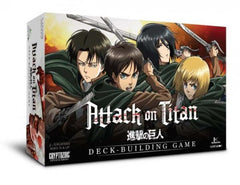 Cryptozoic Attack On Titan: Deck Building Game
