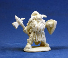 REAPER  Dark Heaven Bones: Dwarf Warrior