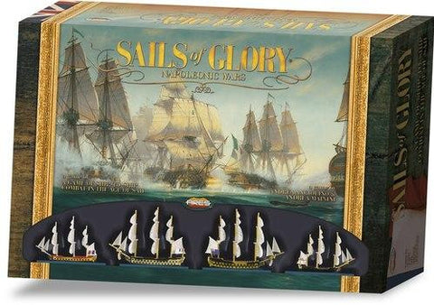 Ares Games Sails of Glory: Napoleonic Wars Starter Set