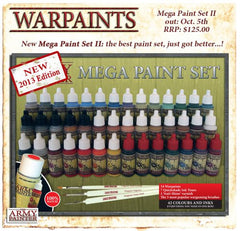 Army Painter Warpaints: Mega Paint Set II
