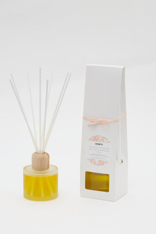 "Reed Diffuser ""Joyful and Warm"" with bergamot and rose 100ml"