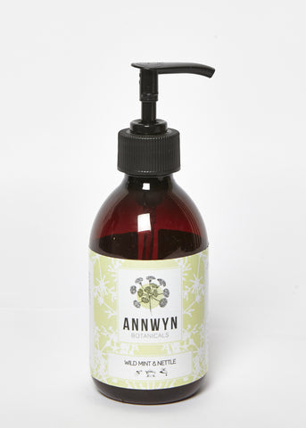 wild mint & nettle natural hand & body wash - 250ml