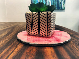 Cute & Pink Large Coaster