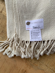Hand-loomed Heirloom Cotton Blanket - Byron Bay