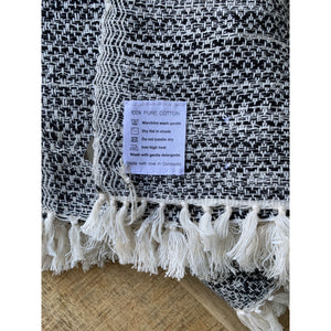Hand-loomed Heirloom Cotton Blanket - Peregian