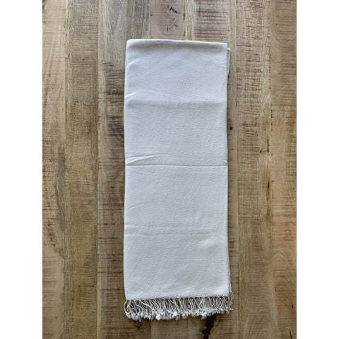 Hand-loomed Heirloom Cotton Blanket - Cabarita