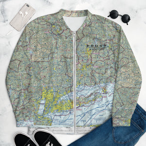 Open image in slideshow, NYC Sectional Chart Track Jacket
