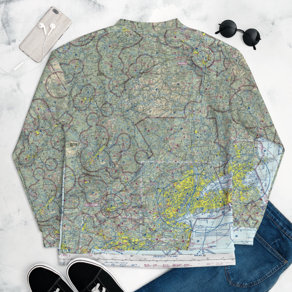 NYC Sectional Chart Track Jacket