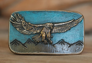 Mighty Eagle Belt Buckle