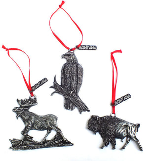 Mountain Wildlife Christmas Ornaments