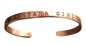 Montana Girl Copper Bracelet _ SOLD OUT