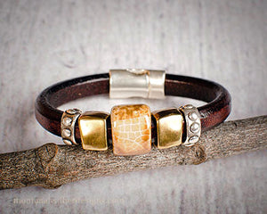 Spirit Leather Montana Bracelet- Montana Jewelry
