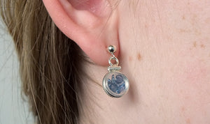 Yogo Sapphire Earrings, Loose Locket