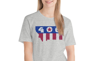 406 Stars & Stripes Montana T Shirt