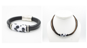 Appaloosa Leather Bracelet